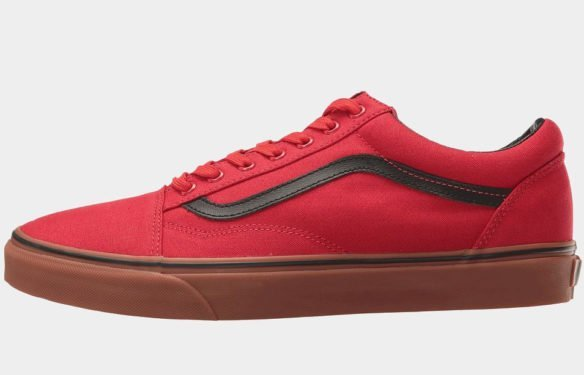 Фото Vans Old Skool Racing красные - 1